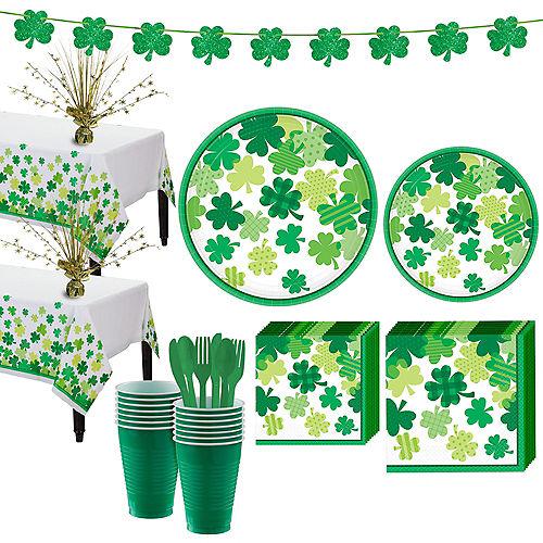 Blooming Shamrock Tableware Kit for 32 Guests Image #1
