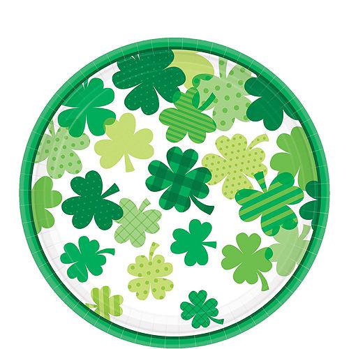 Blooming Shamrock Tableware Kit for 32 Guests Image #3