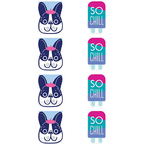 So Chill Notepads 8ct Image #1