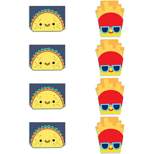 Snack Attack Notepads 8ct Image #1