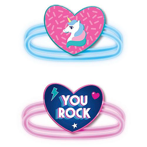 Girls Rule Glow Bracelets 6ct Image #1