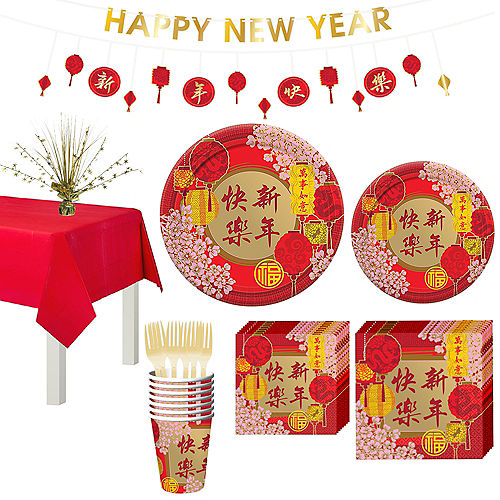 Chinese New Year Party Kit for 8 Guests Image #1