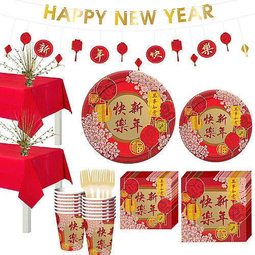 Chinese New Year Party Kit for 16 Guests Image #1