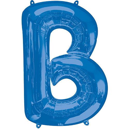 Giant Royal Blue Bar Balloon Kit Image #2