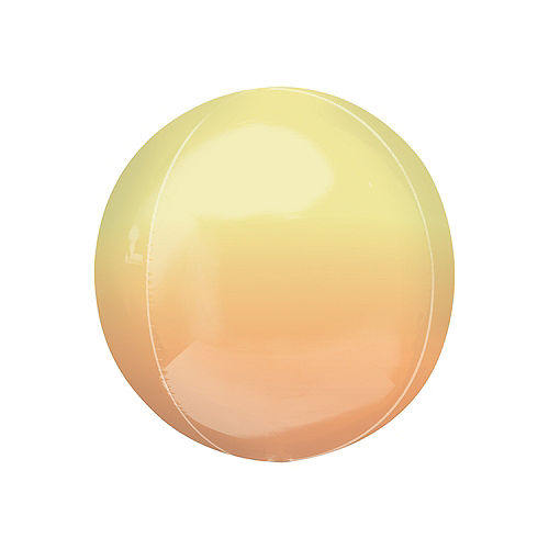 Yellow & Orange Ombre Orbz Balloon Image #1