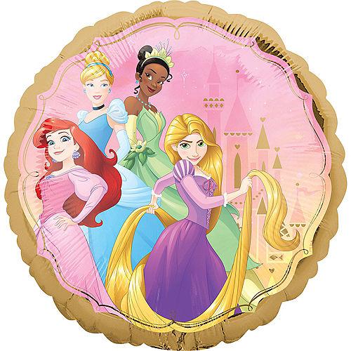 Round Disney Princess Balloon, 17in Image #2