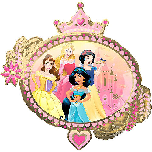 Giant Once Upon A Time Disney Princess Balloon Image #2