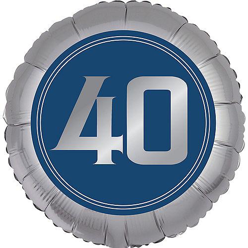 Vintage Happy Birthday 40th Birthday Balloon Image #1