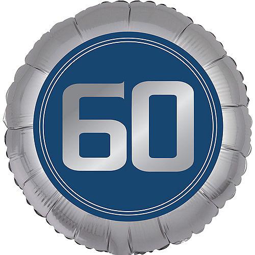 Vintage Happy Birthday 60th Birthday Balloon Image #1