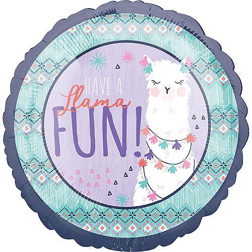 Llama Fun Celebrate Balloon Image #1