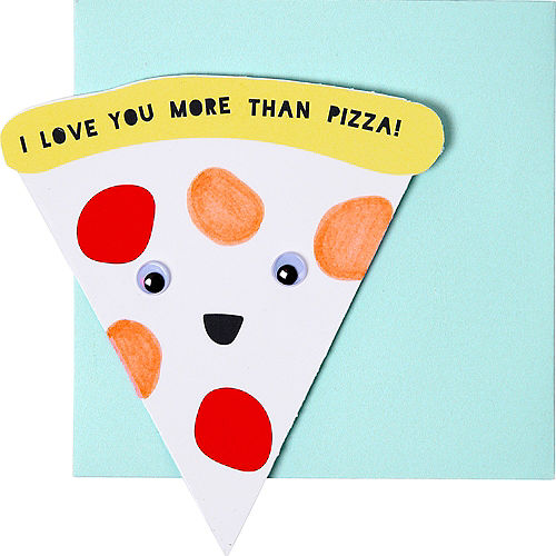 Food Valentine Exchange Cards with Tattoos 24ct Image #2