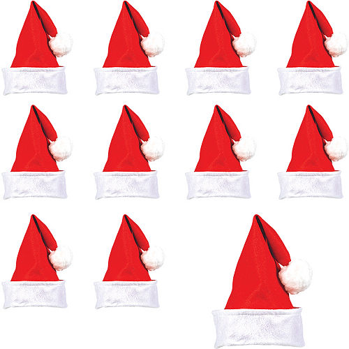 Nav Item for Felt Santa Hats 24ct Image #1