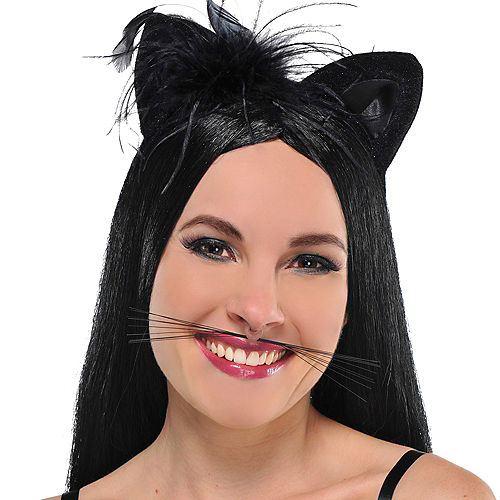 Black Animal Whiskers Image #2