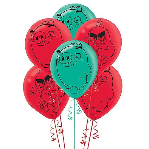 Angry Birds 2 Latex Balloons 6ct Image #1