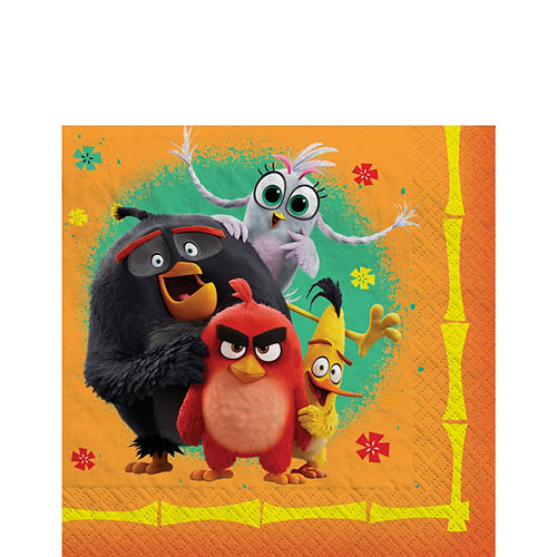 Angry Birds 2 Lunch Napkins 16ct Image #1