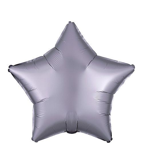 Stone Satin Star Balloon Image #1