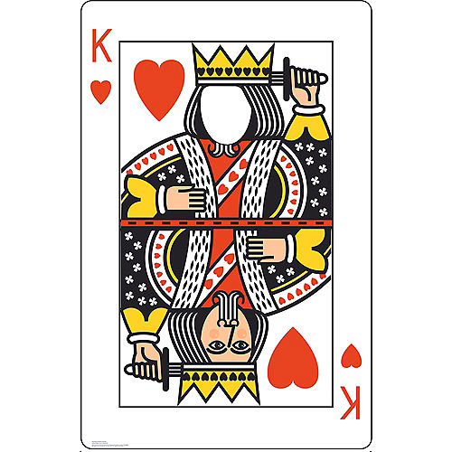 King of Hearts Playing Card Photo Standee Image #1