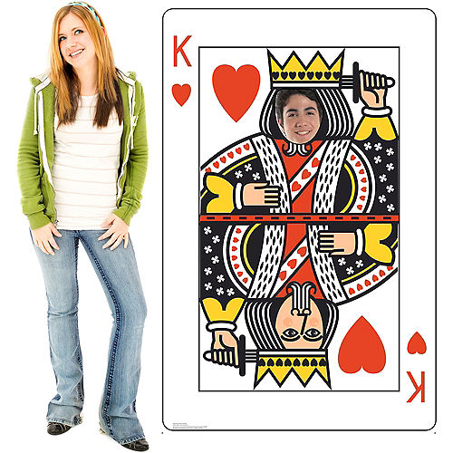King of Hearts Playing Card Photo Standee Image #3