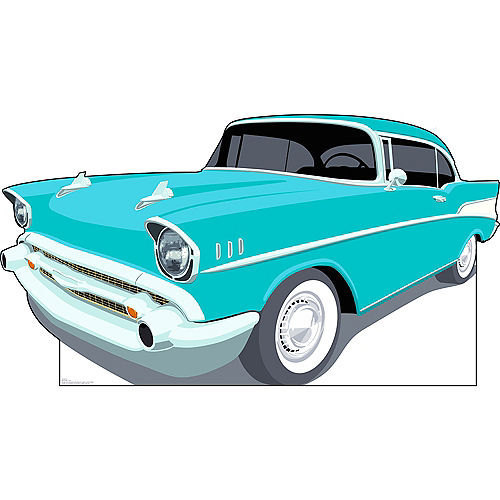 50s Classic Car Standee Image #1