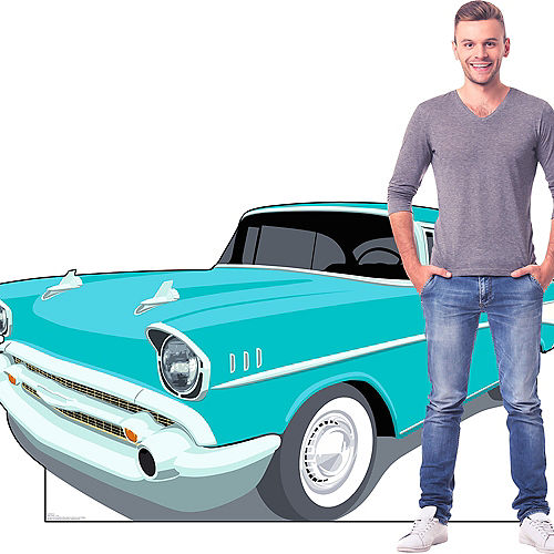 50s Classic Car Standee Image #3