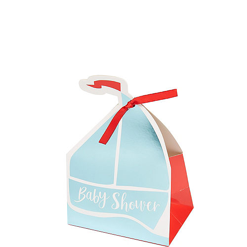 Ginger Ray Nautical Baby Shower Favor Boxes 5ct Image #1
