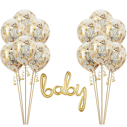 Oh Baby Baby Shower Balloon Kit Image #1