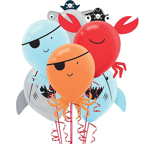 Super Pirate Shark 1st Birthday Party Kit for 36 Guests Image #11