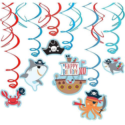 Pirate Shark Decorating Kit Image #3