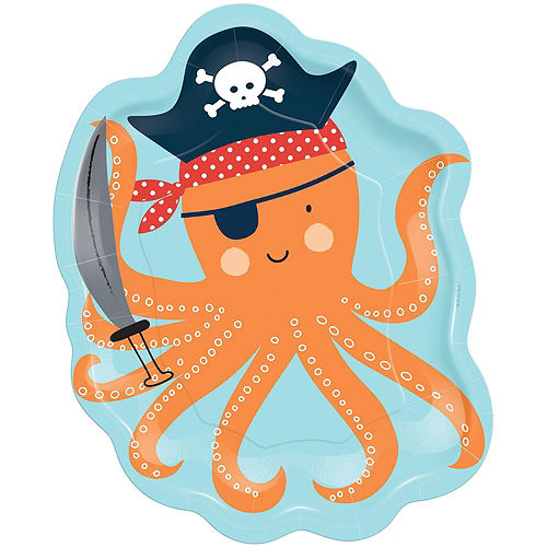 Ultimate Pirate Shark 1st Birthday Party Kit for 36 Guests Image #3
