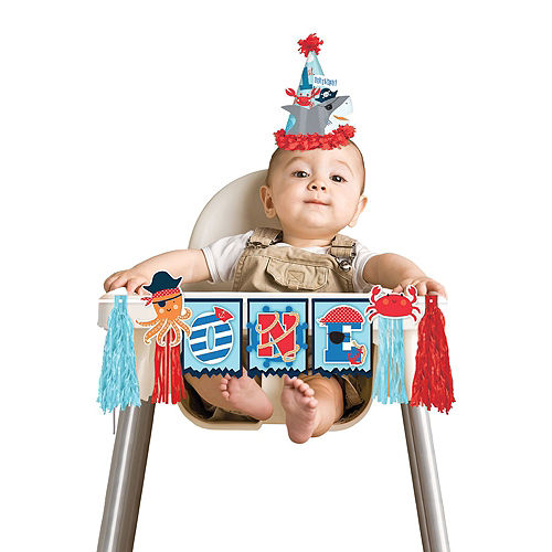 Ultimate Pirate Shark 1st Birthday Party Kit for 36 Guests Image #10