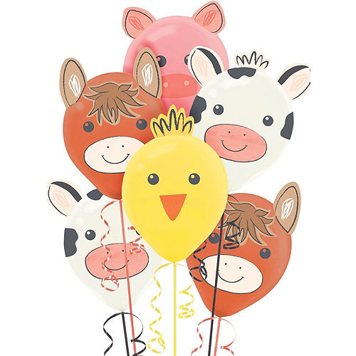 Super Friendly Farm 1st Birthday Party Kit for 36 Guests Image #12