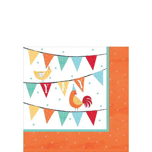 Ultimate Friendly Farm 1st Birthday Party Kit for 36 Guests Image #4