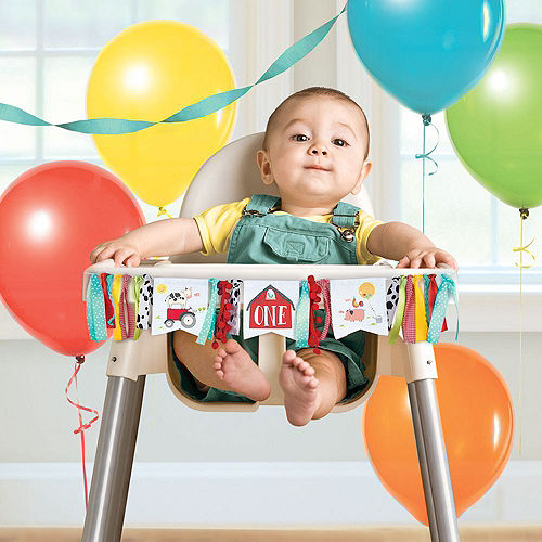Ultimate Friendly Farm 1st Birthday Party Kit for 36 Guests Image #11