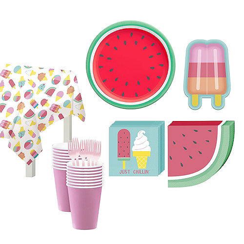 Just Chillin Tableware Kit for 16 Guests Image #1