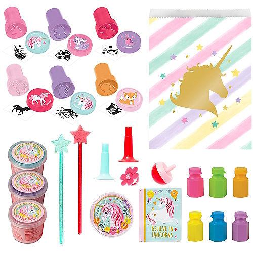 Sparkling Unicorn Basic Favor Kit for 8 Guests Image #1