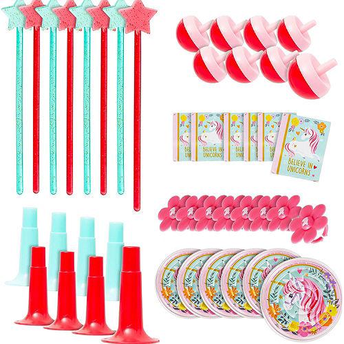 Sparkling Unicorn Basic Favor Kit for 8 Guests Image #4