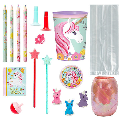 Magical Unicorn Super Favor Kit for 8 Guests Image #1