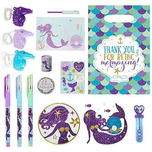 Wishful Mermaid Basic Favor Kit for 8 Guests Image #1