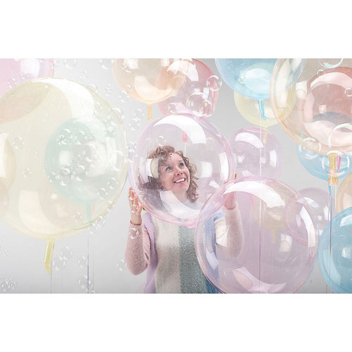 Clear Pink Balloon - Crystal Clearz Image #1