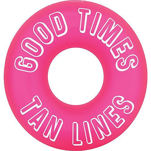 Good Times Tan Lines Pool Tube Float Image #1