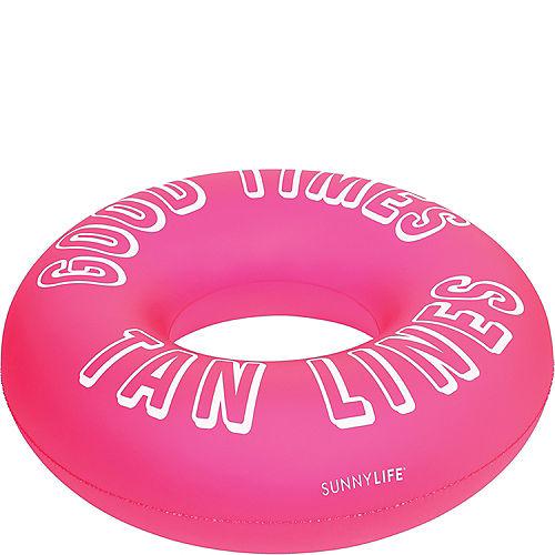 Good Times Tan Lines Pool Tube Float Image #2