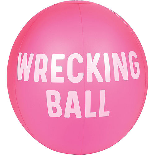 Neon Pink Beach Ball Image #1