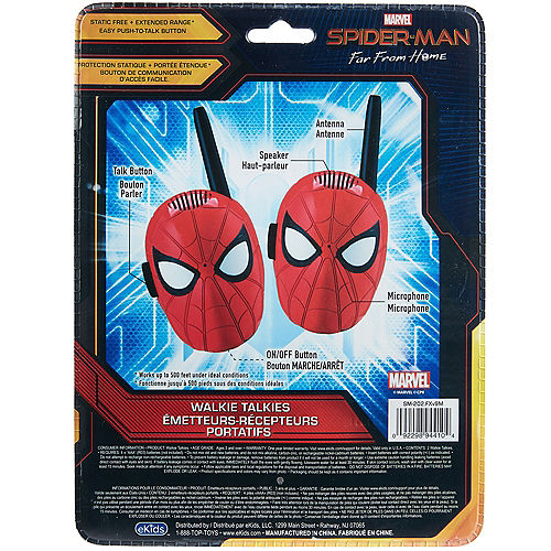 Spider-Man: Far From Home Character Walkie Talkies Image #4