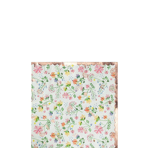 Ginger Ray Floral & Rose Gold Party Kit for 16 Guests Image #3