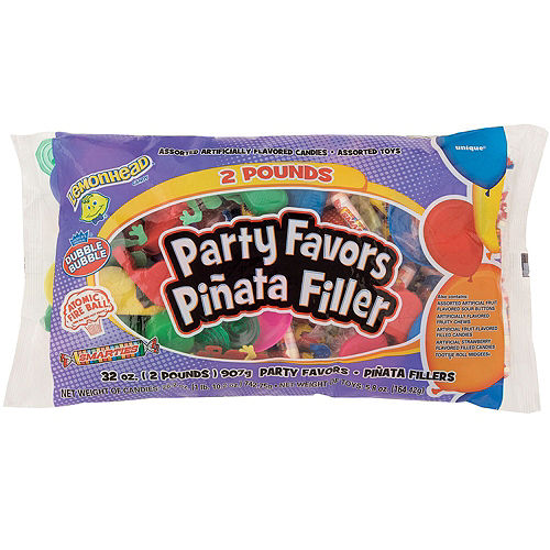 Rainbow and Clouds Pinata Kit with Candy & Favor Image #5