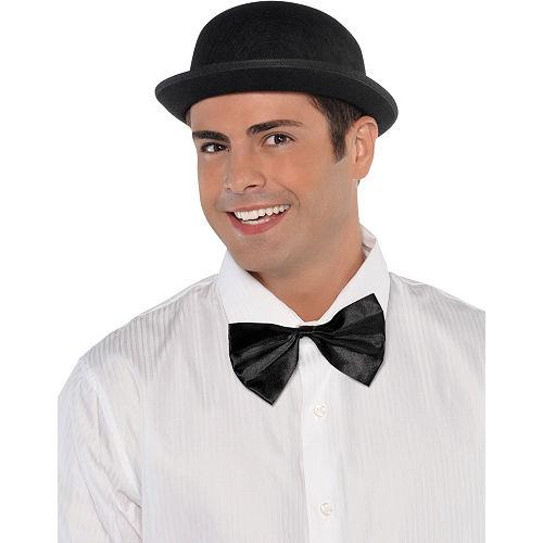 Black Derby Hat Image #2