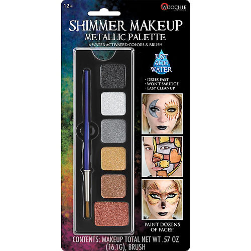 Shimmer Makeup Metallic Palette 4pc Image #1