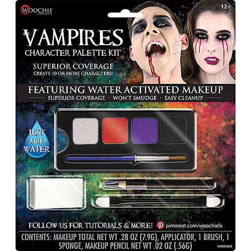 Complete Vampires Character Makeup Palette Kit 5pc Image #1