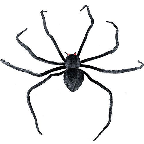 Realistic Black Halloween Spider Image #1