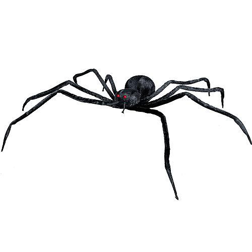 Realistic Black Halloween Spider Image #2